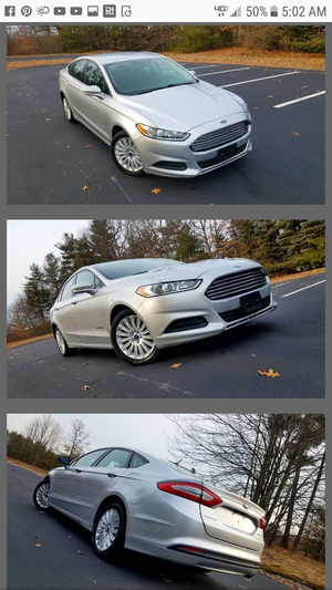 2015 Ford Fusion SE hybrid for Sale in Acton, MA
