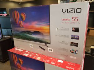 """VIZIO 55"""" 4K SMART TV'S WITH HDR DOLBY VISION AIR PLAY CHROME CAST IN BOX WARR TAX INCL OTD PRICE PYMNT OPT for Sale in Glendale, AZ"""