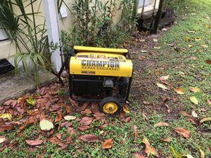 Champion Generator 3500 Peak Watt Portable Generator for Sale in West Palm Beach, FL