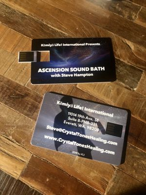 Professional Sound Bath Recordings (6 Versions if same Live Sound Bath) for Sale in Everett, WA