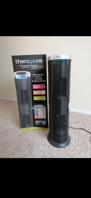 Envion 90TP240TW01-W Therapure TPP240 Permanent HEPA Type Air Purifier for Sale in Houston, TX