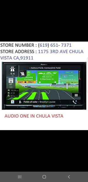 Pioneer AVIC-W8500NEX for Sale in Chula Vista, CA