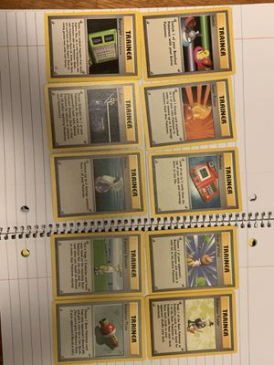 10 Pokemon trainer cards for Sale in Los Angeles, CA