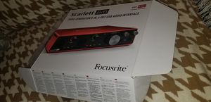 Focusrite 8i6 3rd Generation for Sale in Somerville, MA