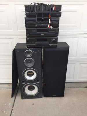 Techniics stereo system for Sale in Phoenix, AZ