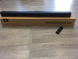 WIRELESS 🎚SOUND BAR 🎚BLUETOOTH for Sale in Chino, CA