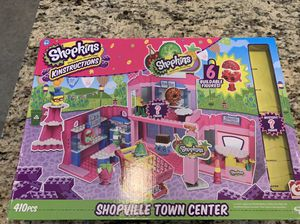 Shopkins Kinstruction Shopville town center for Sale in Baltimore, MD