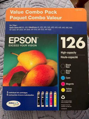 EPSON 126 PRINTER INKS for Sale in Los Angeles, CA