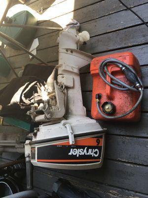 Chrysler 6hp outboard motor for Sale in San Rafael, CA