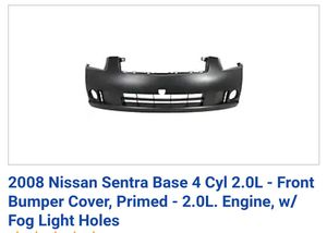Nissan rear bumper front bumper and Grill (NEW) oem parts for Sale in Moreno Valley, CA