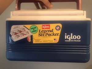 Igloo six packer cooler new for Sale in Seattle, WA