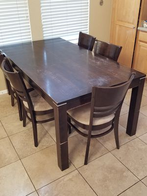 6-chair Kitchen Table for Sale in Denver, CO