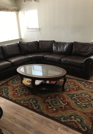 Couch rug coffee and end tables for Sale in Oroville, CA
