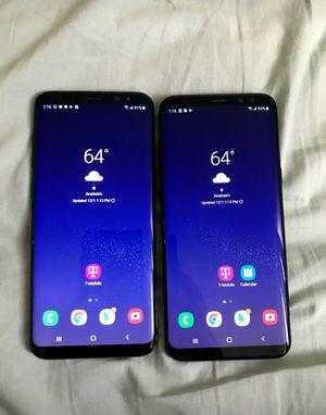 2 Samsung Galaxy s8 plus Tmobile unlocked for Sale in Anaheim, CA