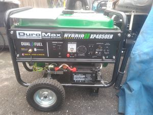 Generator 4850w with electric start for Sale in Ontario, CA