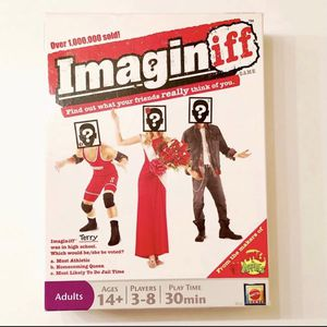 Imaginiff Board Game 2010 Mattel Party Adult 14+ Cards for Sale in Richmond, VA