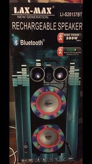 Bluetooth speaker new in box for Sale in Dallas, TX