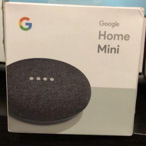 Google Home Mini Charcoal- Brand New for Sale in Menifee, CA