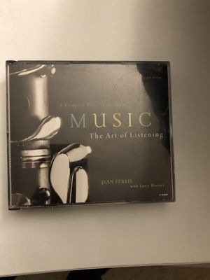 4-CD set Music: The Art of Listening (Audio CD) for Sale in NO POTOMAC, MD
