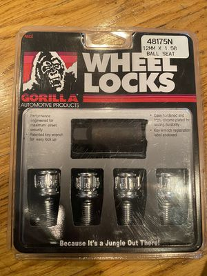 Gorilla 48175N BALL SEAT BOLT LOCKS 12x1.5 mm for Sale in Dix Hills, NY