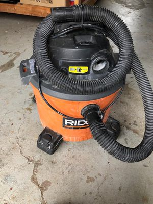 Ridged Vacuum WORKS GREAT. 9 Gallon for Sale in Lewisville, TX