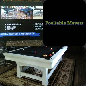 Pooltable moving for Sale in Riverside, CA