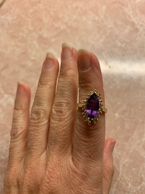 Amethyst and Diamond ring for Sale in New Haven, CT