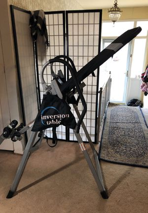 Inversion table by Ironman for Sale in Takoma Park, MD