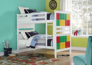 NEW Playground LEGO Bunk Bed ( separates 2 twin beds ) for Sale in Key Biscayne, FL