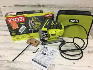 Ryobi 6.1 Amp Corded Variable Speed Orbital Jig Saw for Sale in Mesa, AZ