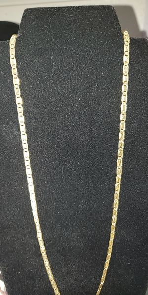 14k gold plated chain for Sale in San Antonio, TX
