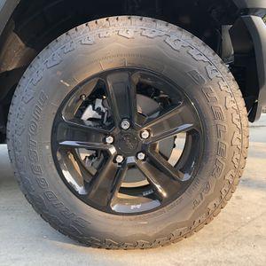 2021 Jeep Wrangler Set Of 5 Wheels & Tires for Sale in Clovis, CA