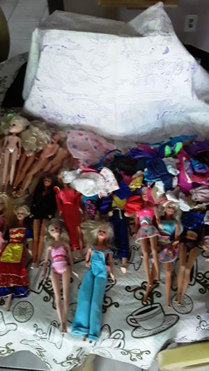 Barbies and clothes for Sale in Oceanside, CA