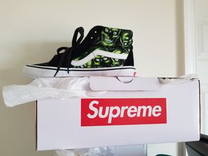 Supreme x Vans Skull sk8 hi [size 8] for Sale in McLean, VA