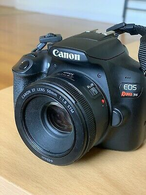 Canon EOS Rebel T6 18.0MP Digital SLR Camera Lens Included for Sale in Atlanta, GA