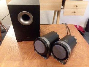 Altec Lansing speakers with subwoofer for Sale in Belfast, ME