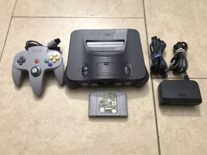 Nintendo 64 system for Sale in Garden Grove, CA
