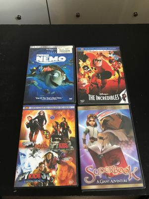 6 kids movies like new. for Sale in Vancouver, WA
