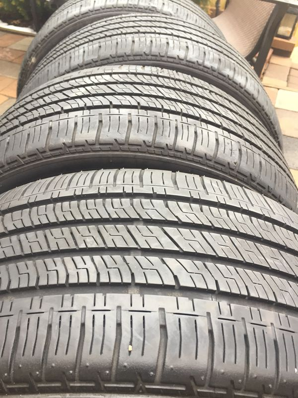 245 40 18 bridgestone turanza run flat tires