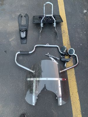 Motorcycle accessories, price for all for Sale in Woodridge, IL