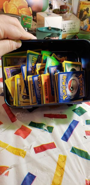 Pokemon Cards- Tin Full (PICKUP ONLY) for Sale in Lorain, OH