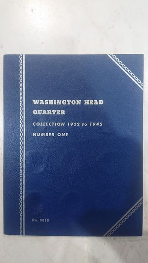 Whitman Washington Quarter 1932-1945 album for Sale in Garden Grove, CA