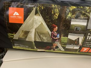 Brand New Ozark Trail 7-Person Teepee Tent without Center Pole Obstruction for Sale in Norfolk, VA