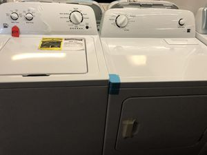 New scratch and dent kenmore washer and dryer set. 1 year warranty for Sale in St. Petersburg, FL