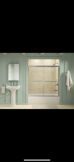 Kohler sliding bath tub door for Sale in Tempe, AZ