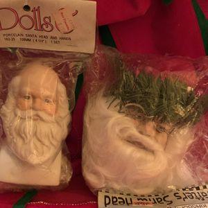 Vintage Santa Claus doll parts for Sale in Berkeley Springs, WV