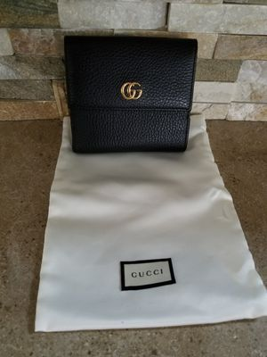 Gucci Leather French Flap Wallet for Sale in Costa Mesa, CA
