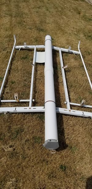 """Adrian Steel 7 Ft Grip-Lock Ladder Rack Double Lock Down with Conduit Kit w/ Round End Caps, 6"""" for Sale in Beaverton, MI"""