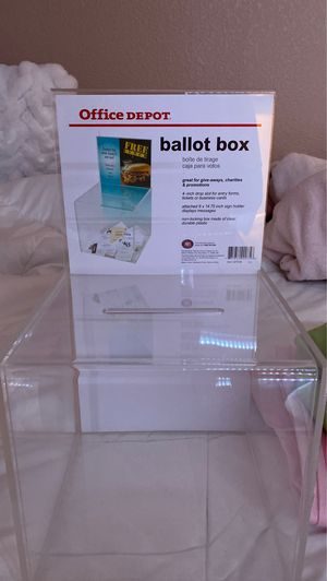 Ballot box for Sale in Gonzales, CA