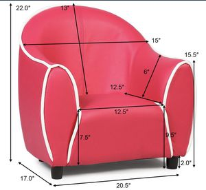 Kids Sofa Armrest Chair Couch Children Living Room Toddler Furniture for Sale in Chino, CA